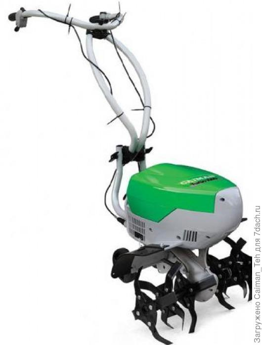 Аккумуляторный культиватор Caiman Turbo 1000