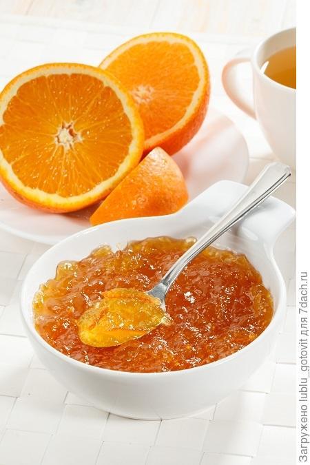 Конфитюр из апельсинов с коньяком