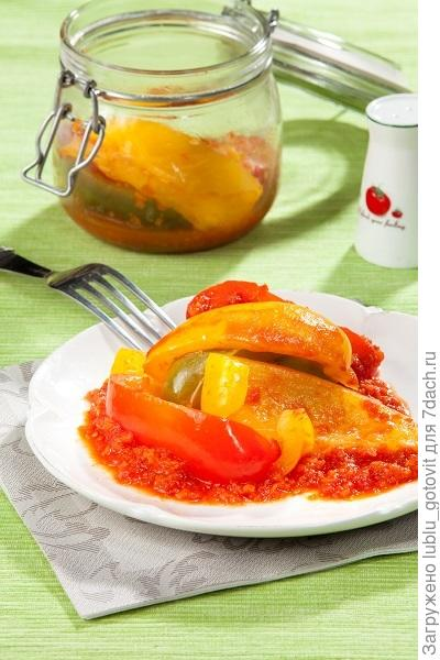 ечо из перца и помидоров