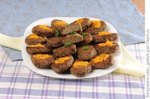 Гречаники с печенкой и морковью