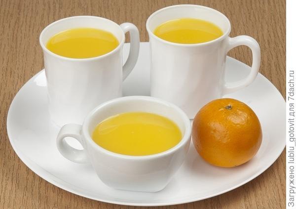 Облепихово-апельсиновый морс