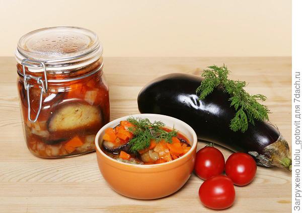 Мастер-класс «Баклажаны в томатном соусе»