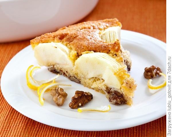 Яблочный пирог с орехами  Фото: К. Виноградов/BurdaMedia