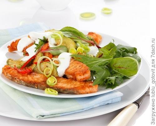 Рыбный салат с кабачком Фото: Олег Кулагин/BurdaMedia
