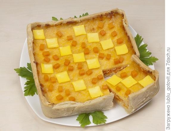 Тыквенно-сырный пирог  Фото: А. Нерубаев/BurdaMedia