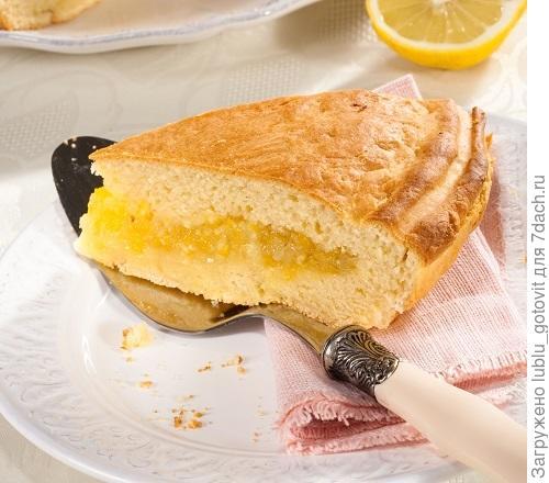 рецепт пирог с цедрой лимона на кифире