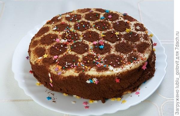 """Медовый торт """"Соты""""  Фото: Дмитрий Позднухов/BurdaMedia"""