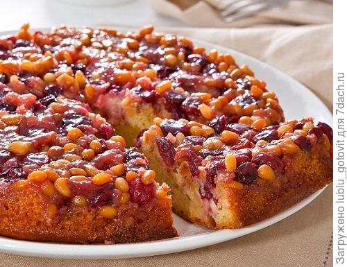 Пирог с клюквой и кедровыми орешками Фото: К. Виноградов/BurdaMedia