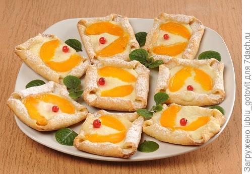 Творожное печенье с консервированными абрикосами Фото: А. Соколов/BurdaMedia