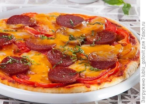Картофельная пицца Фото: Олег Кулагин/BurdaMedia