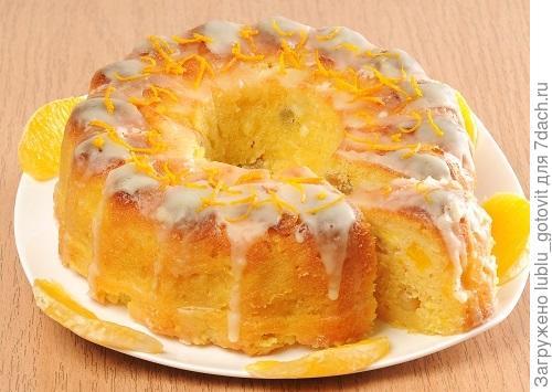 Апельсиновый кекс с глазурью Фото: А. Соколов/BurdaMedia