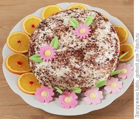 """""""Сладкий блинный торт"""" Фото: А. Карпенко/BurdaMedia"""