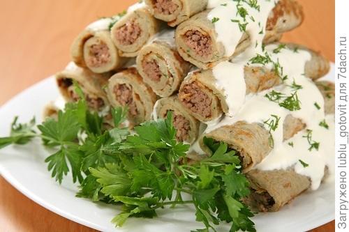 «Картофельные блинчики с мясом» Фото: Дмитрий Позднухов/BurdaMedia