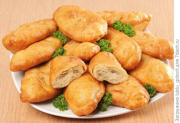 Пирожки с фасолью и грибами Фото: А. Соколов/BurdaMedia