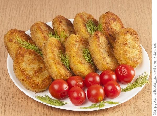 Картофельные котлеты с рисом. Фото: А. Соколов/BurdaMedia