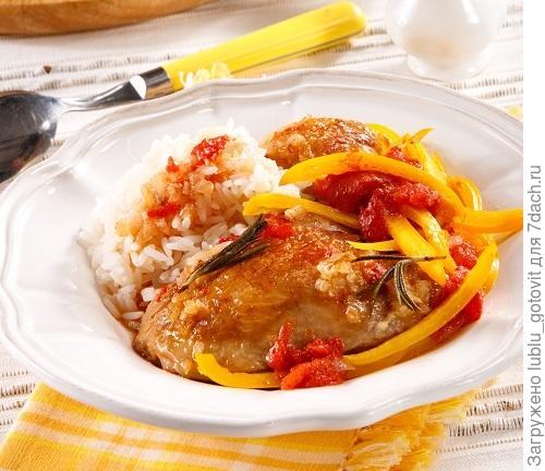 Мастер-класс Куриные ножки со сладким перцем и розмарином. Фото: Олег Кулагин/BurdaMedia