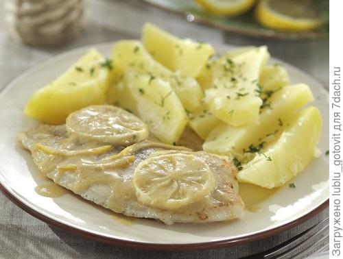 Рыбное филе с лимоном. Фото: Дмитрий Королько/BurdaMedia