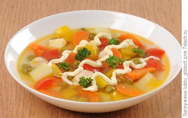 Суп с птицей Овощной блюз. Фото: А. Соколов/BurdaMedia