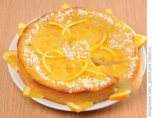 Апельсиново-творожная запеканка с тыквой. Фото: Гагич Э.И./BurdaMedia