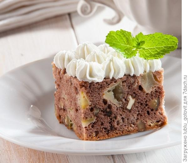 Шоколадный пирог с яблоками/Фото: Олег Кулагин/BurdaMedia