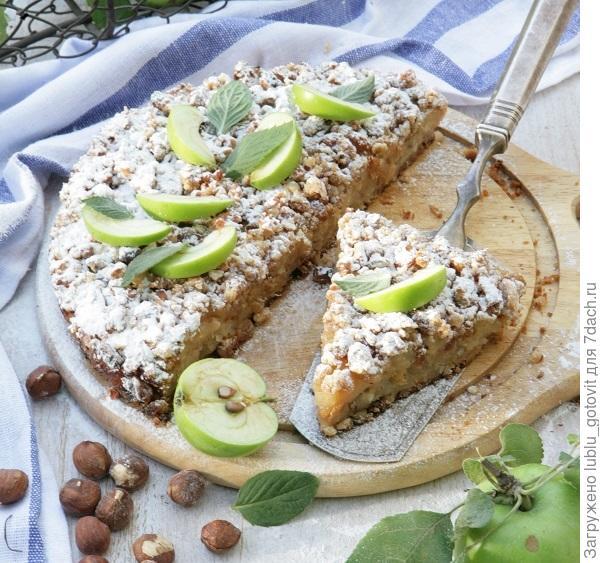 Датский яблочный пирог/Фото: Екатерина Моргунова/BurdaMedia