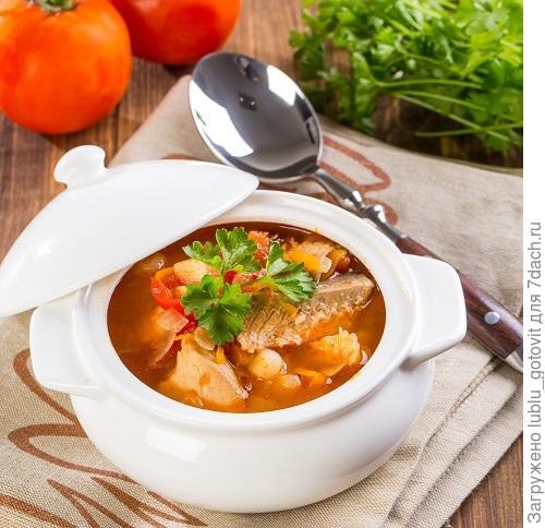Густой рыбный суп/Фото: К. Виноградов/BurdaMedia