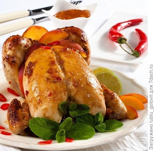 Цыпленок под соусом барбекю/Фото: Олег Кулагин/BurdaMedia