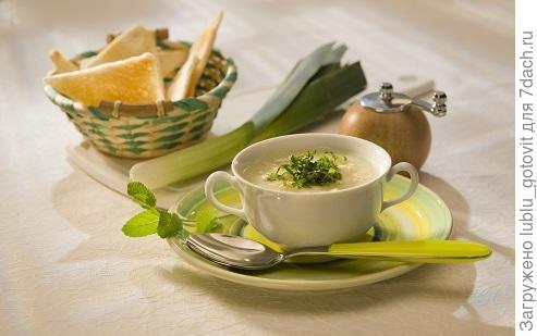 Крем-суп с луком пореем/Фото: Дмитрий Байрак/ BurdaMedia