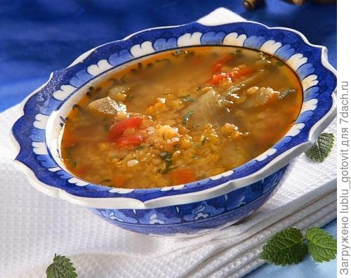 Суп из чечевицы с баклажанами/Фото: Олег Кулагин/BurdaMedia