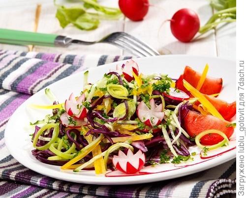 Витаминный салат/Фото: Олег Кулагин/BurdaMedia