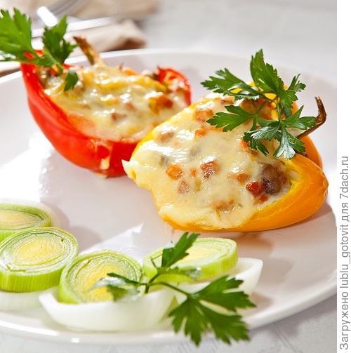 Сладкий перец с моцареллой/Фото: К. Виноградов/BurdaMedia
