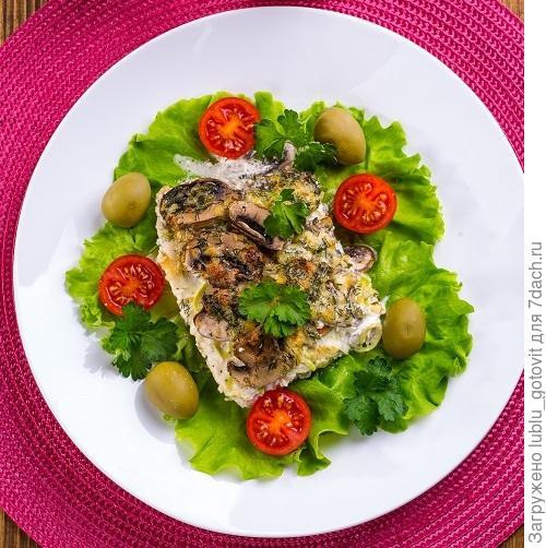 Запеченная рыба/Фото: К. Виноградов/BurdaMedia