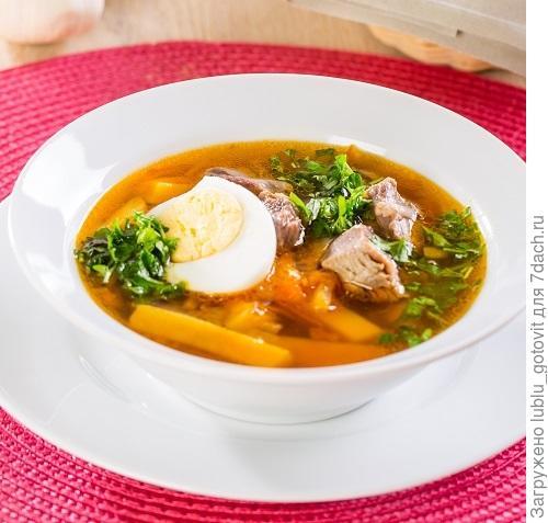 Картофельный суп с зеленью/Фото: К. Виноградов/BurdaMedia