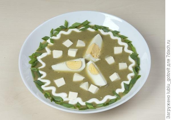 Щавелевые щи с плавленым сыром/Фото: А. Нерубаев/BurdaMedia