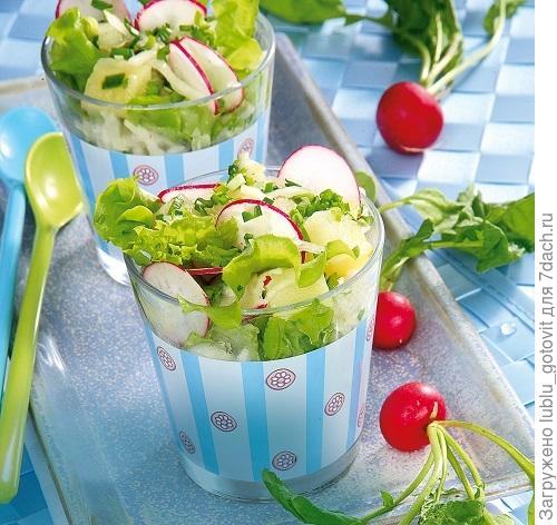 Витаминный овощной салат/Фото: Олег Кулагин/BurdaMedia
