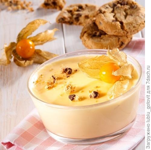 Яично-молочный десерт/Фото: Олег Кулагин/BurdaMedia
