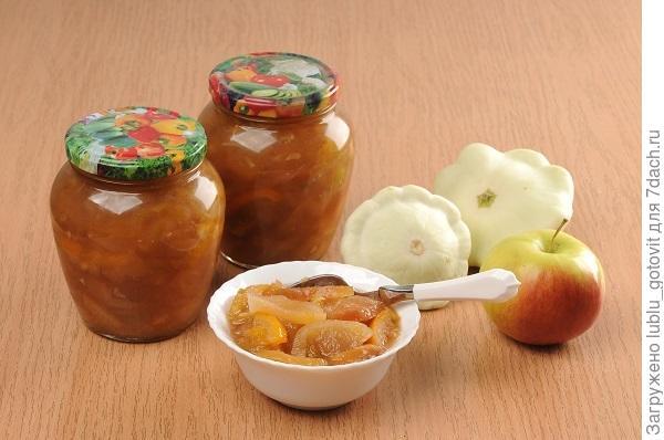 Варенье из яблок и кабачков/Фото: А. Соколов/BurdaMedia
