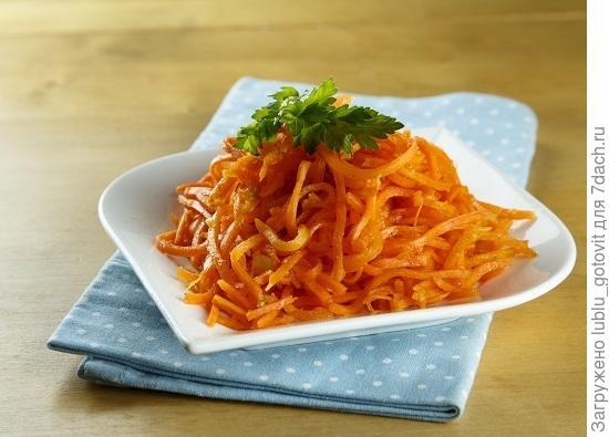 Морковь по-корейски/Фото: Мария Ковалева/BurdaMedia