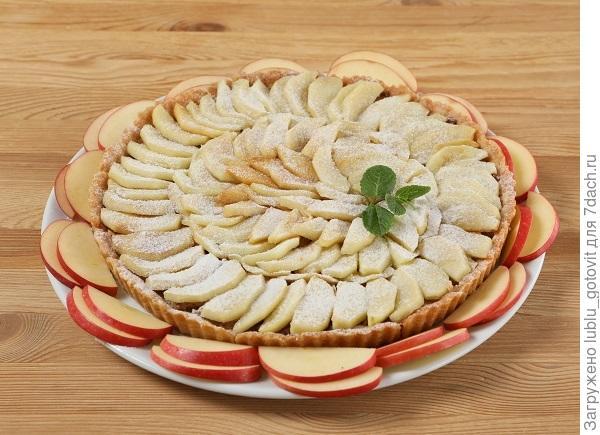 Постный пирог с яблоками/Фото: А. Карпенко/BurdaMedia