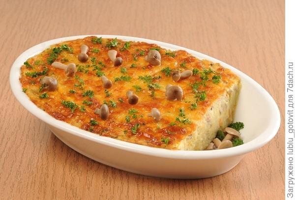 Суфле картофельное с грибами/Фото: А. Соколов/BurdaMedia
