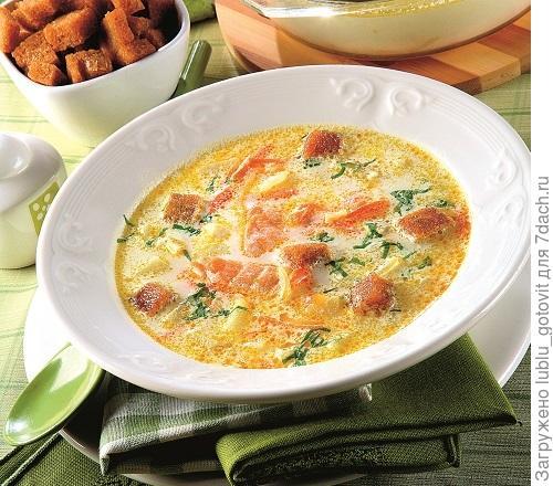 Сырный суп с рыбой/Фото: Олег Кулагин/BurdaMedia