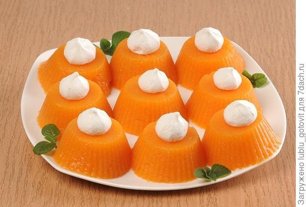 Желе из тыквы и апельсинового сока/Фото: А. Соколов/BurdaMedia