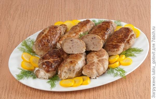 Рисовочки с печенью в жировой сетке/Фото: А. Соколов/BurdaMedia