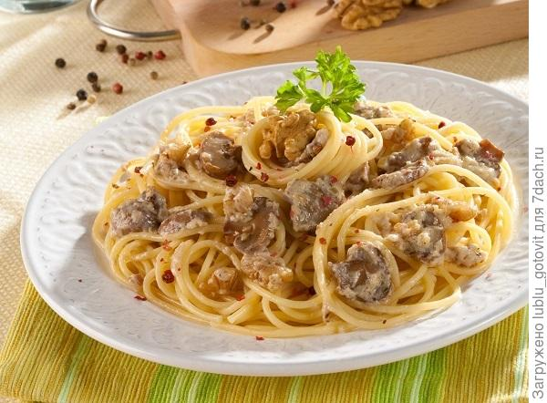 Спагетти с ореховым соусом/Фото: Олег Кулагин/BurdaMedia