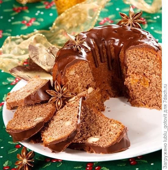 Шоколадный кекс с миндалем и сухофруктами/Фото: Олег Кулагин/BurdaMedia