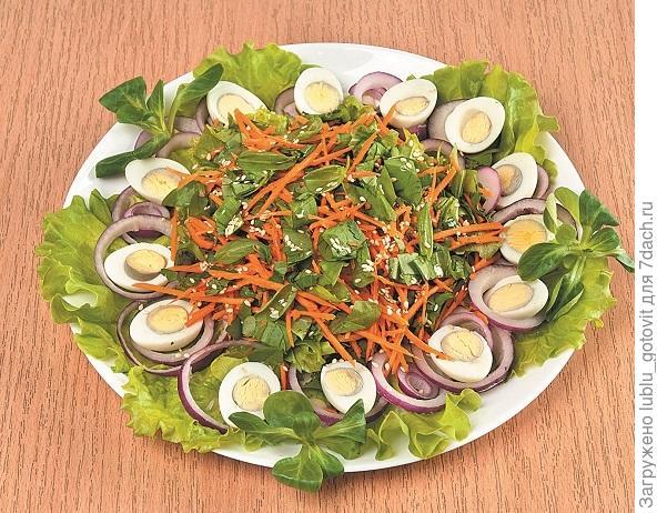 Весенний салат с морковью/Фото: А. Соколов/BurdaMedia