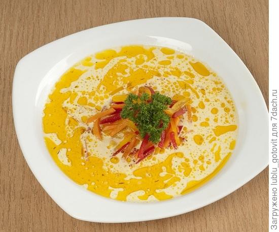 Тыквенный суп с овощами/Фото: А. Соколов/BurdaMedia