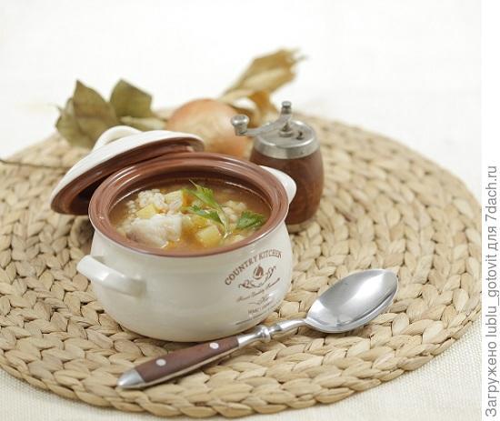 Рыбный суп с перловой крупой/Фото: Дмитрий Королько/BurdaMedia