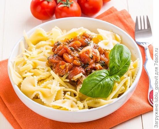 Спагетти с томатным соусом/Фото: К. Виноградов/BurdaMedia
