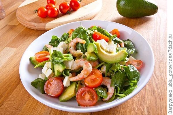 Легкий салат с авокадо/Фото: К. Виноградов/BurdaMedia